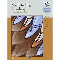Alfred Ready to Sing . . . Broadway Book & CD (00-35810)