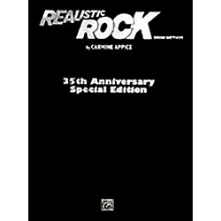 Alfred Realistic Rock 35th Anniversary Special Edition Book/ CD-ROM (00-27666)