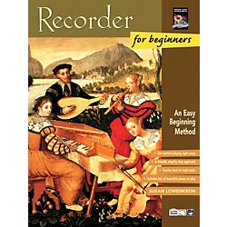 Alfred Recorder for Beginners Book/CD (00-19408)