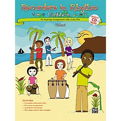 Alfred Recorders in Rhythm: Caribbean (Book/CD) (00-33314)