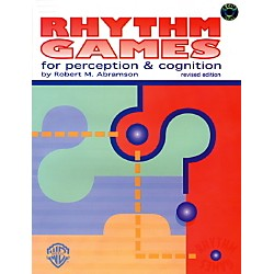Alfred Rhythm Games for Perception & Cognition (Revised) Book & 2 CDs (00-V017CD)