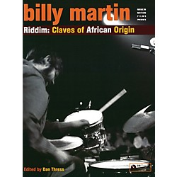 Alfred Riddim Claves African Origin - Billy Martin Book and CD Set (83-MIM005)