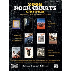 Alfred Rock Charts 2008 Deluxe Annual Edition Guitar Tab Book (00-29971)