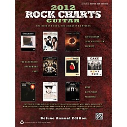 Alfred Rock Charts Guitar 2012 Deluxe Annual Edition TAB Book (322462)