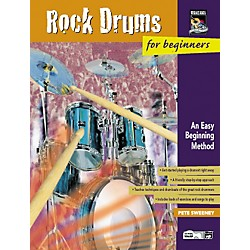 Alfred Rock Drums for Beginners Volumes 1 & 2 Book with DVD (00-21935)