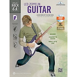 Alfred Rock Ed.: Led Zeppelin Guitar Book & DVD-ROM (00-41015)
