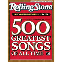 Alfred Rolling Stone Sheet Music Classics Volume 1: 1950s-1960s (Music Book) (00-30200)