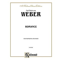 Alfred Romance for Trombone By Carl Maria von Weber Book (00-K04566)