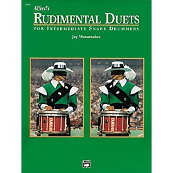 Alfred Rudimental Duets For Intermediate Snare Drummers Book (00-16582)
