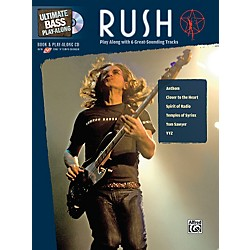 Alfred Rush Ultimate Play-Along Bass (Book/CD) (00-31868)