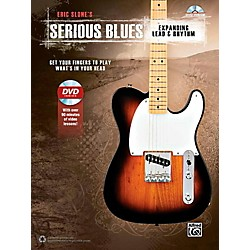 Alfred Serious Blues Expanding Lead & Rhythm Book & DVD (00-42450)