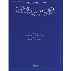 Alfred Seven Brides for Seven Brothers: Movie Selections Vocal, Piano/Chord Book (00-TSF0069)
