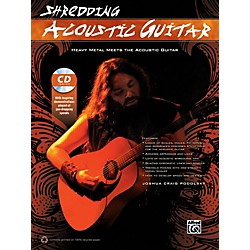 Alfred Shredding Acoustic Guitar Book & CD (00-41486)