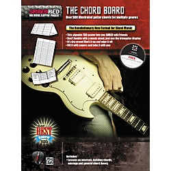 Alfred Shredhed Chord Board for Guitar Poster (85-30600)