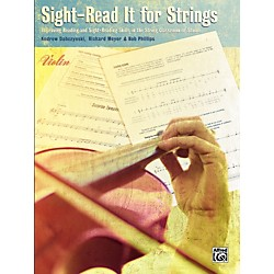 Alfred Sight-Read It for Strings Violin (00-25259)