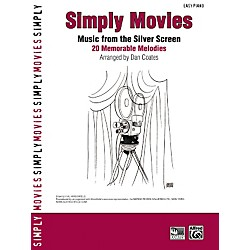 Alfred Simply Movies Easy Piano (00-27907)