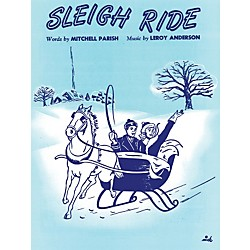 Alfred Sleigh Ride Piano/Vocal/Chords (00-30149)