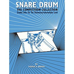 Alfred Snare Drum The Competition Collection Book (00-EL03682)
