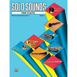 Alfred Solo Sounds for Flute Volume I Levels 1-3 Levels 1-3 Piano Acc. (00-EL03324)