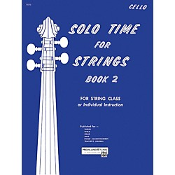 Alfred Solo Time for Strings Book 2 Cello (00-13070)