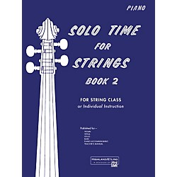 Alfred Solo Time for Strings Book 2 Piano Acc. (00-13072)