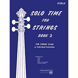 Alfred Solo Time for Strings Book 2 Viola (00-13069)