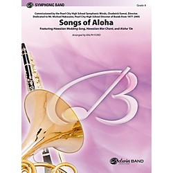 Alfred Songs of Aloha Concert Band Level 4 Set (00-42228)
