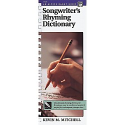 Alfred Songwriter's Rhyming Dictionary Book (00-14660)