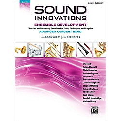Alfred Sound Innovations Concert Band Ensemble Development Advanced Bass Clarinet (00-43935)