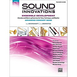 Alfred Sound Innovations Concert Band Ensemble Development Advanced Conductor's Score (00-43926)