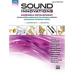 Alfred Sound Innovations Concert Band Ensemble Development Advanced Mallet Percussion (00-43951)