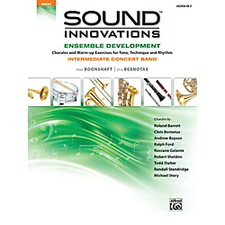Alfred Sound Innovations Concert Band Ensemble Development Horn in F Book (00-34584)