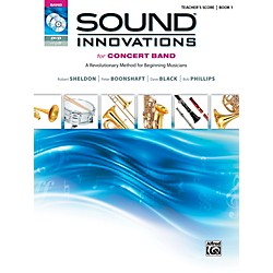 Alfred Sound Innovations for Concert Band, Book 1 Conductor's Score (00-36603)