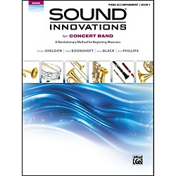 Alfred Sound Innovations for Concert Band Book 1 Piano Accom. Book (00-34546)