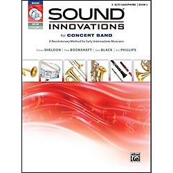 Alfred Sound Innovations for Concert Band Book 2 E-Flat Alto Saxophone Book CD/DVD (00-34555)