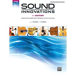 Alfred Sound Innovations for Guitar Book 1 Teacher Edition (00-39349)