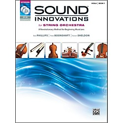 Alfred Sound Innovations for String Orchestra Book 1 Viola Book CD/ DVD (00-34594)
