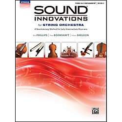 Alfred Sound Innovations for String Orchestra Book 2 Piano Acc. Book Only (00-34604)