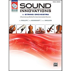 Alfred Sound Innovations for String Orchestra Book 2 Viola Book CD/DVD (00-34601)