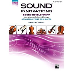 Alfred Sound Innovations for String Orchestra Sound Development (Advanced) Conductor's Score (00-41095)