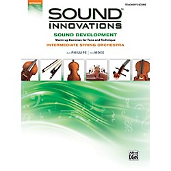 Alfred Sound Innovations for String Orchestra Sound Development Conductor's Score (00-34606)