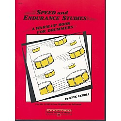 Alfred Speed and Endurance Studies Warm Up Book for Drummers (00-2715)