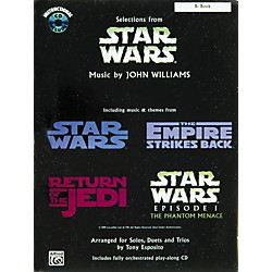 Alfred Star Wars Selections B-Flat Instrument Book & CD (00-IF9917CD)