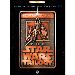 Alfred Star Wars Trilogy for Violin Book (00-0066B)