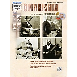 Alfred Stefan Grossman's Early Masters of American Blues Guitar: Country Blues Guitar Book with CD (00-25983)