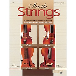 Alfred Strictly Strings Book 1 Piano Acc. (00-5298)