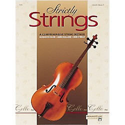 Alfred Strictly Strings Cello Book 1 (00-5295)