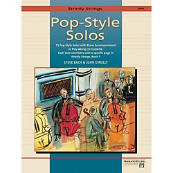 Alfred Strictly Strings Pop-Style Solos Viola Book Only (00-17449)