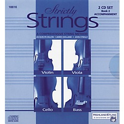 Alfred Strictly Strings Vol. 2 - 2 CD Set (00-16616)