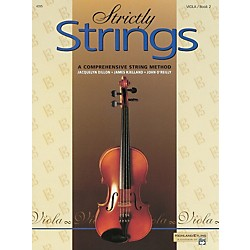 Alfred Strictly Strings for Viola, Book 2 (00-4395)